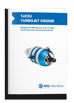 TJ23U TURBOJET ENGINE